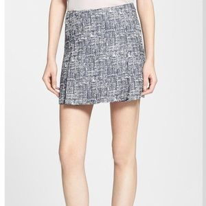 Joie Faux Tweed Mini Skirt